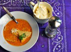 Creamy Pressure Cooker (Instant Pot) Chicken Tortilla Soup