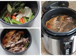Pressure Cooker (Instant Pot) Turkey Stock