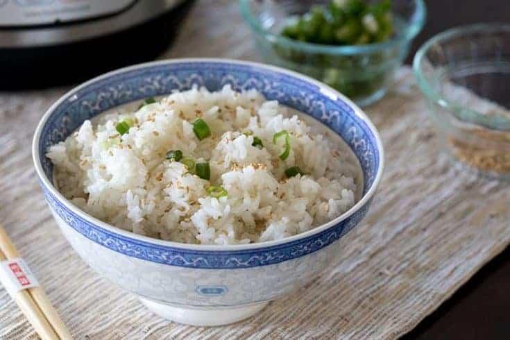 Pressure Cooker (Instant Pot) White Rice