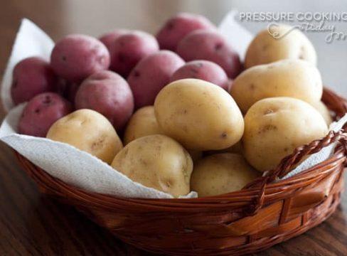 Pressure Cooker (Instant Pot) Tip: Small Potatoes