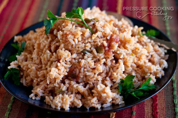 Quick and Easy Pressure Cooker (Instant Pot) Spanish Rice