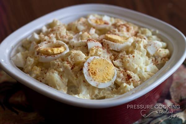 Quick Potato Salad in the Pressure Cooker