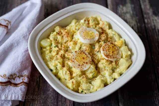 Quick Pressure Cooker (Instant Pot) Potato Salad