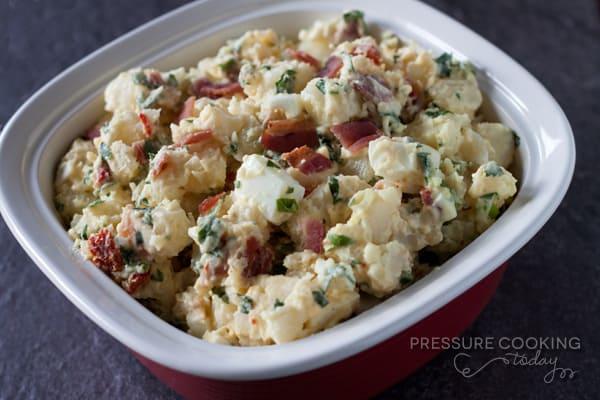 Pressure Cooker (Instant Pot) BLT Potato Salad