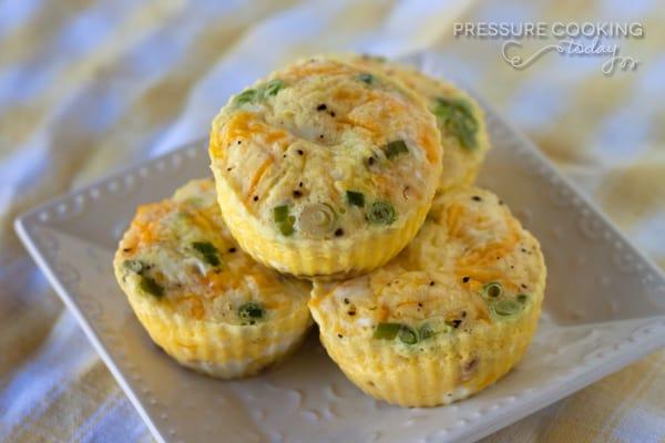 Pressure Cooker (Instant Pot) Egg Muffins