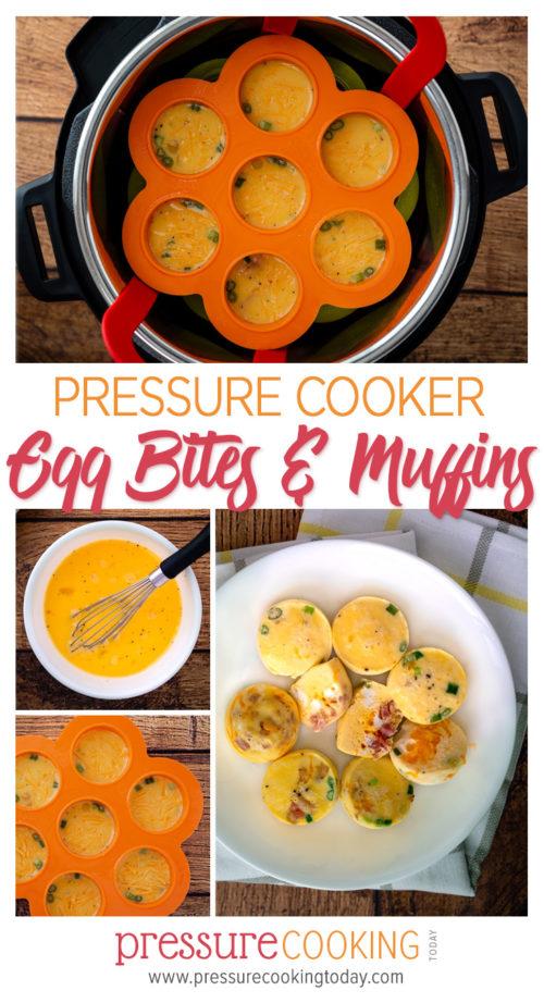 Easy Instant Pot / Pressure Cooker Egg Bites and Egg Muffins