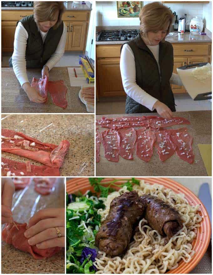 Rouladen Pressure Cooker Recipe Collage