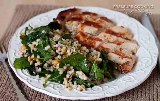 Pressure Cooker (Instant Pot) Kale and Harvest Grains Salad