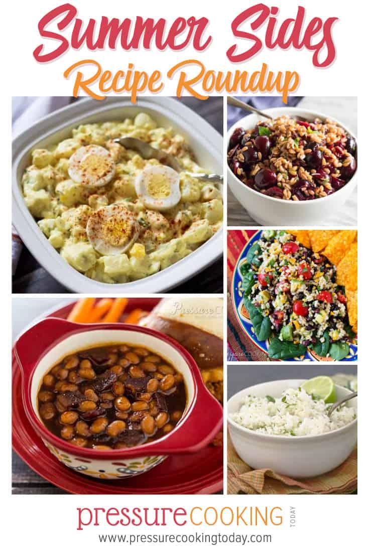 Favorite Summer Side Dish Recipes for the Pressure Cooker (Instant Pot) via @PressureCook2da