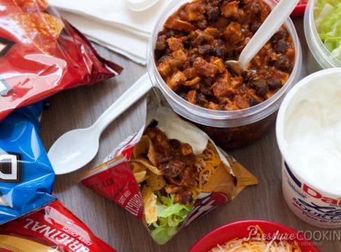 Ingredients for Pressure Cooker (Instant Pot) Chicken Walking Tacos
