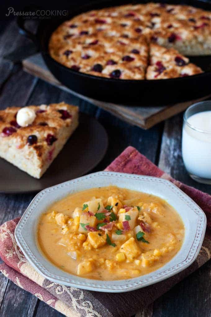 Pumpkin-Chicken-Corn-Chowder-Pressure-Cooking-Today
