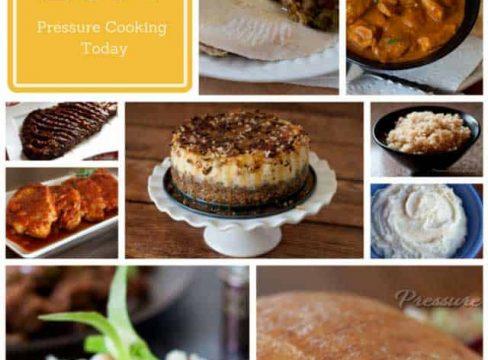 Photo collage of the top 10 most popular pressure cooker recipes of 2014. Our most popular Instant Pot recipes are here for you to try!