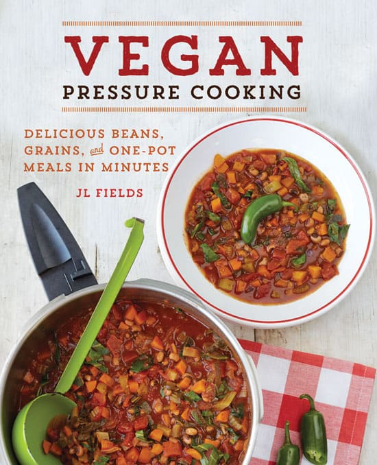 cover photo of Vegan Pressure Cooking by JL FIelds
