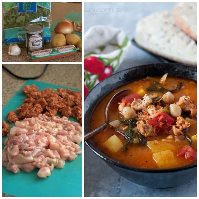 Chorizo-Chicken-Kale-Soup-Collage-Pressure-Cooking-Today