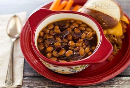 Pressure Cooker (Instant Pot) Baked Beans
