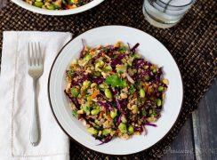 Pressure Cooker (Instant Pot) Thai Quinoa Edamame Salad