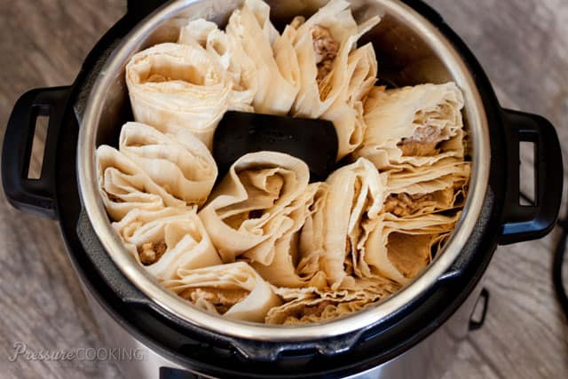 Pressure-Cooker-Tamales in the Instant Pot