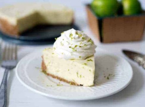 Pressure Cooker Key Lime Pie
