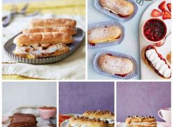 collage of Dream-Puff-Eclairs from Barbara-Bakes