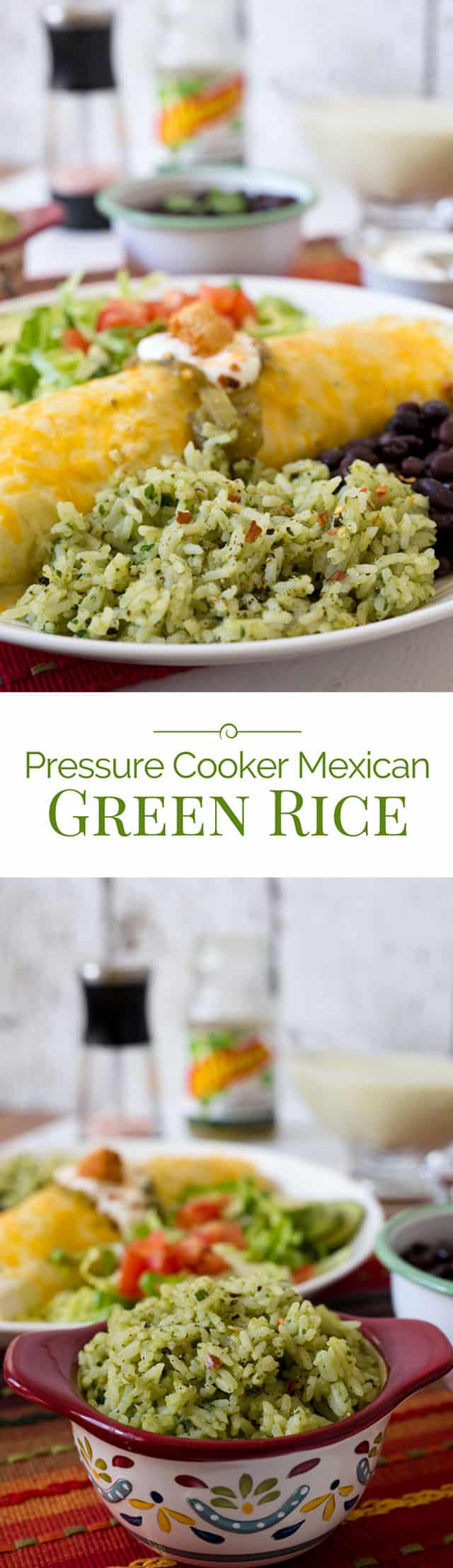 Pressure-Cooker-Mexican-Green-Rice-collage