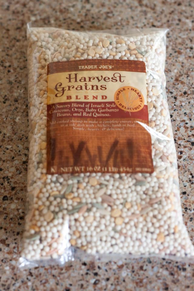 bag of Harvest Grains Blend from Trader Joe\'s