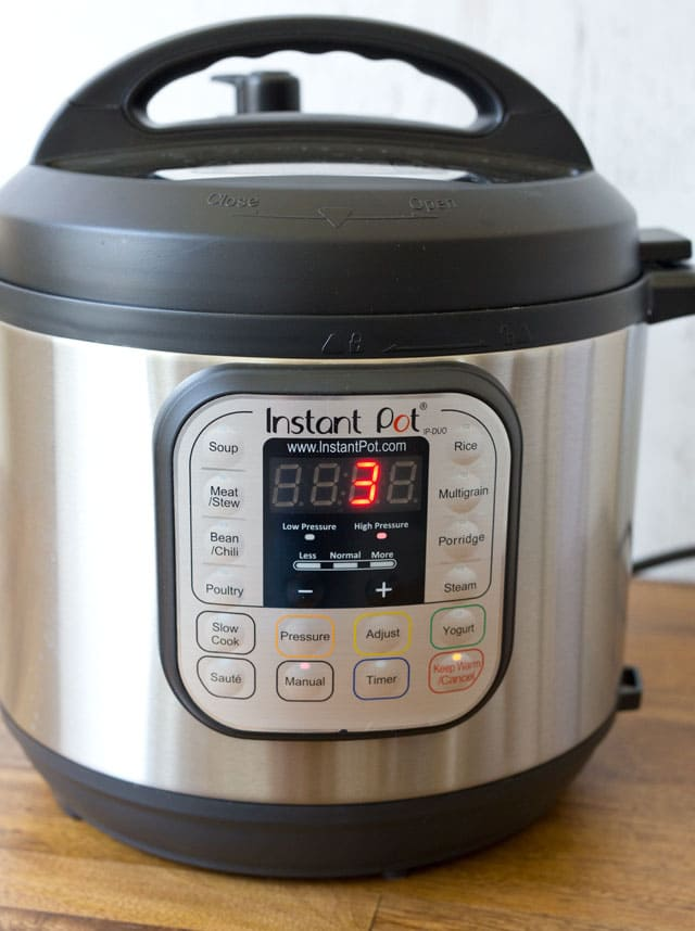 The new Instant Pot Duo Version 2 memorizes the cooking time you used last.