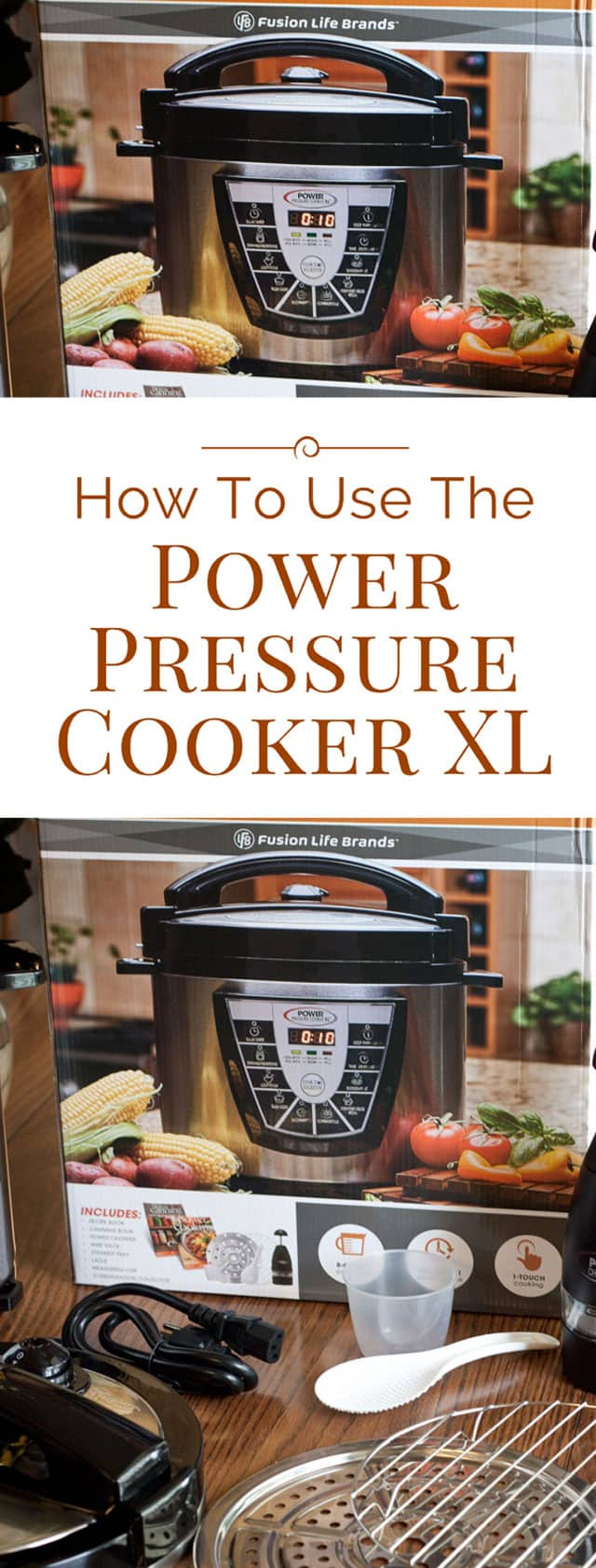 The Power Pressure Cooker XL is one of the best selling electric pressure cookers. Here\'s everything you need to know about how to use the Power Pressure Cooker XL
