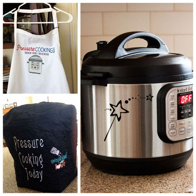 collage of Fun accessories for your pressure cooker