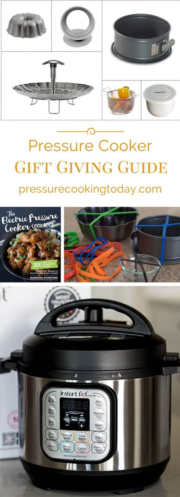 If you\'re looking for ideas to put on your wishlist, or for the pressure cooker lover in your life, check out my Electric Pressure Cooker Gift Giving Guide.