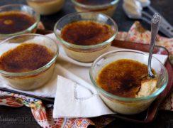 Pressure Cooker (Instant Pot) Pumpkin Crème Brûlée