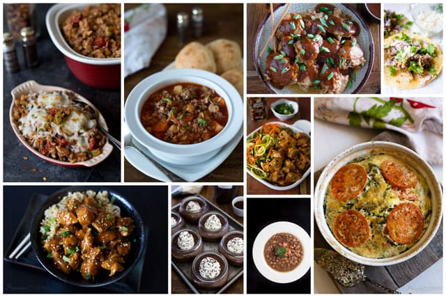 popular electric pressure cooker recipes collage