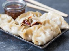 Pressure Cooker (Instant Pot) Asian Steamed Dumplings