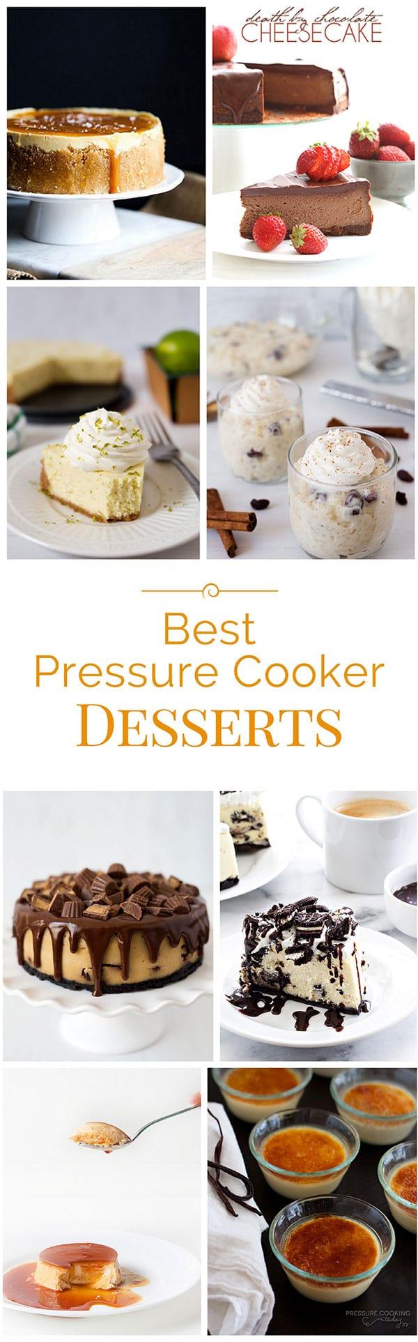 Best-Pressure-Cooker-Desserts-Collage