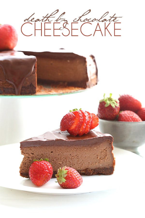 Low Carb Death by Chocolate Cheesecake