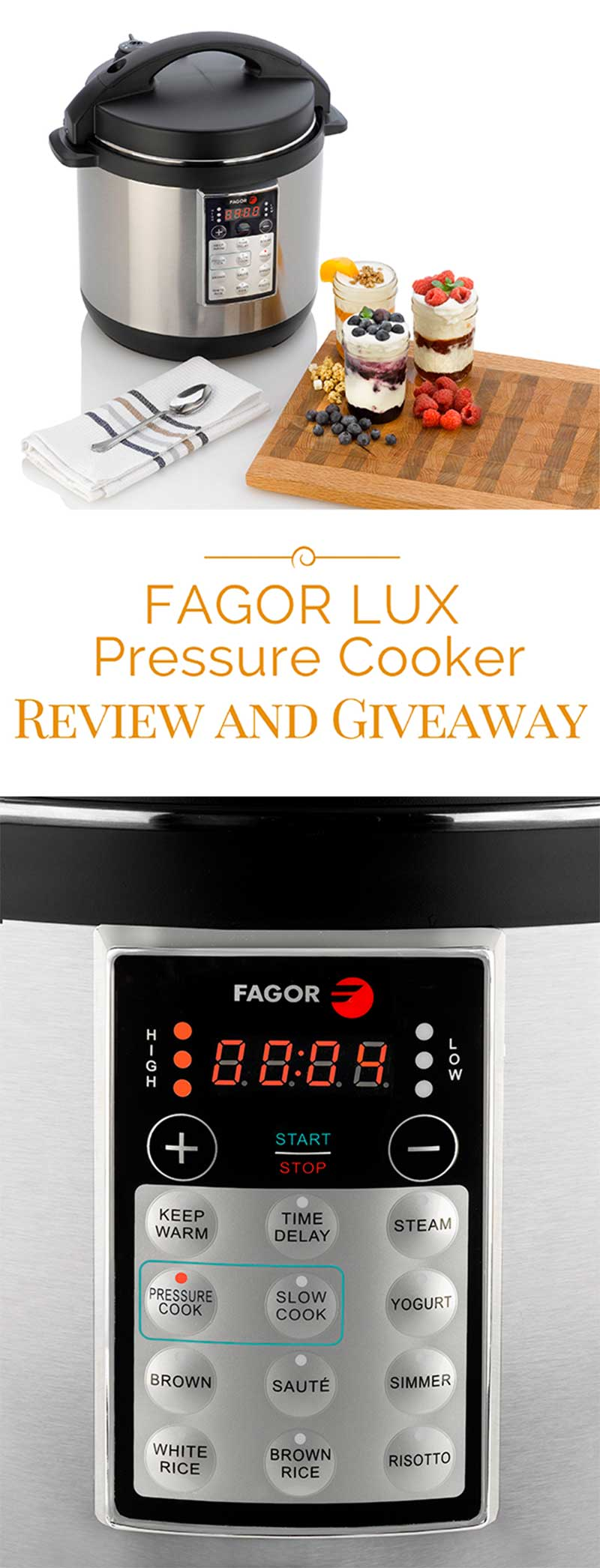 Top Rated Fagor LUX 8 Quart Multi-Cooker