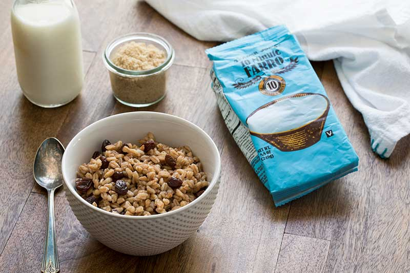 Instant Pot Farro is a great, healthy way to start the day.