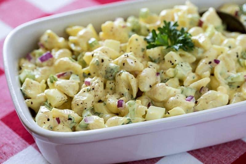 Pressure Cooker (Instant Pot) Amish Macaroni Salad
