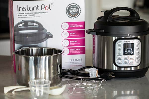 Accessories that come with your Instant Pot Duo Mini.
