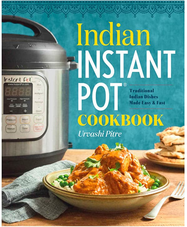 Indian Instant Pot Cookbook Cover Image
