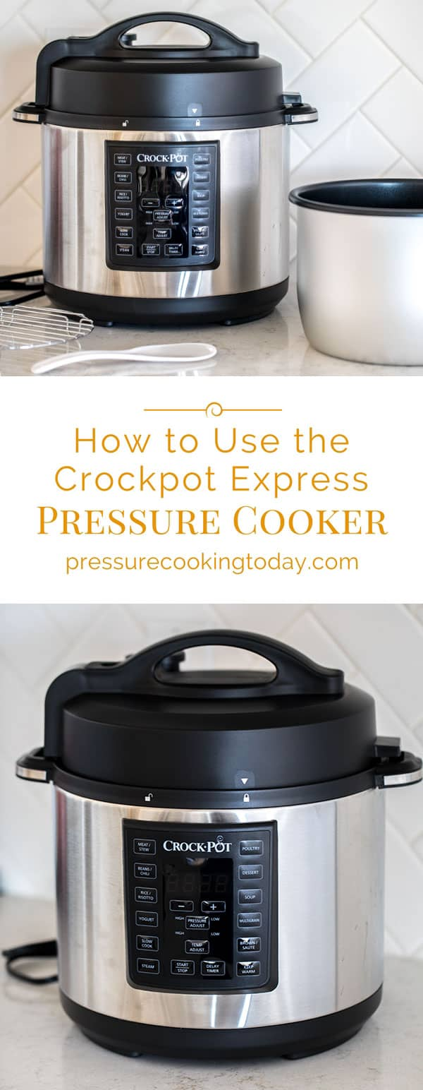 Crock-Pot has joined the electric pressure cooker revolution. Here\'s my review and How To Use the Crock-Pot Express Pressure Cooker Multi-Cooker