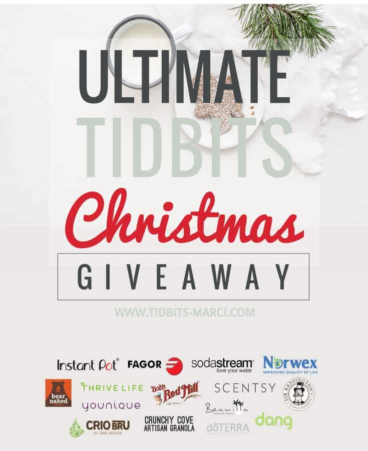 ultimate tidbits Christmas giveaway promotional image