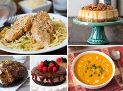 A bunch of different types of food on a plate, with Pressure and Valentine's Day