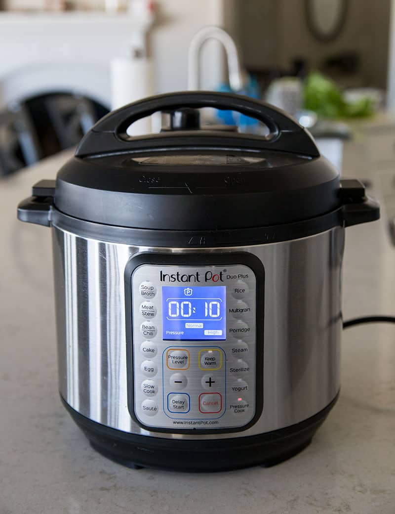 Pressure Cooker Chicken Shawarma with a 10 minute cook time in the Instant Pot