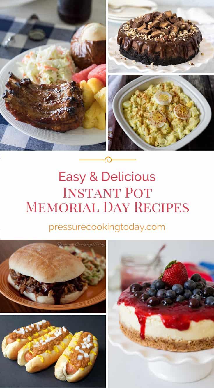 ## EASY Instant Pot Recipes for an AWESOME Memorial Day BBQ via @PressureCook2da