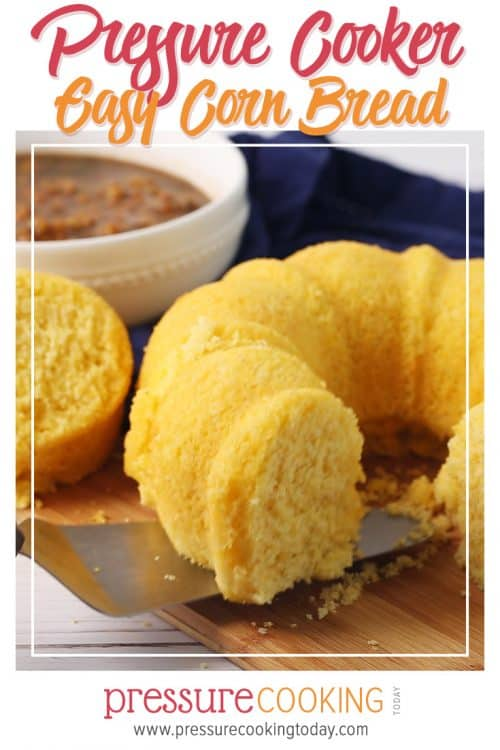 Easy InstaPot Instant Pot Corn Bread in the Electric Pressure Cooker