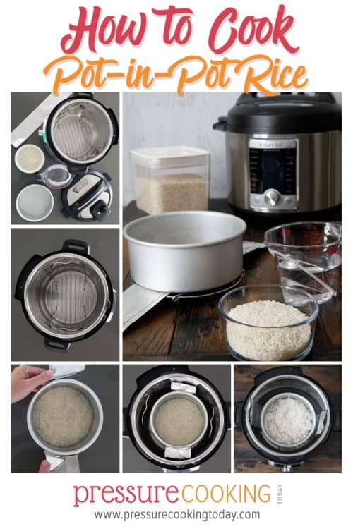 Pinterest How to Make Pot-in-Pot Method Rice and Tips and Tutorials for Cooking Other Pot-in-Pot Recipes