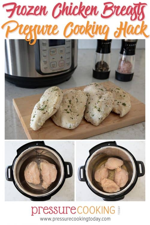 Frozen Chicken Breast Pressure Cooking Hack