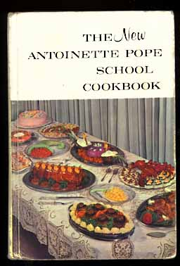 Antoinette Pope new school cookbook with Hollywood Two-Tone Cheesecake
