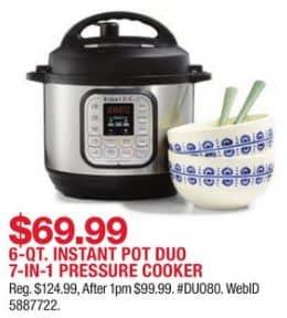 Macy\'s Instant Pot Duo Black Friday Deal