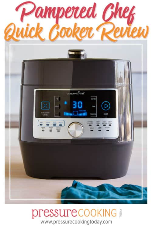 Pampered Chef Quick Cooker Pressure Cooker Review